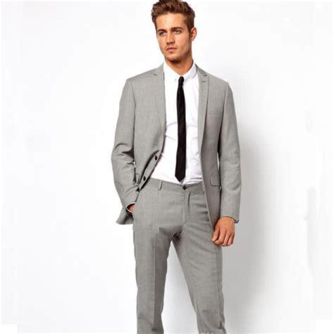 fashion red carpet men suits  popular light grey