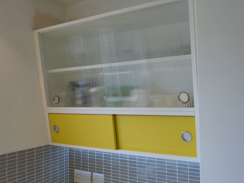 Retro 1950's kitchen custom made by Peter Henderson Furniture ...