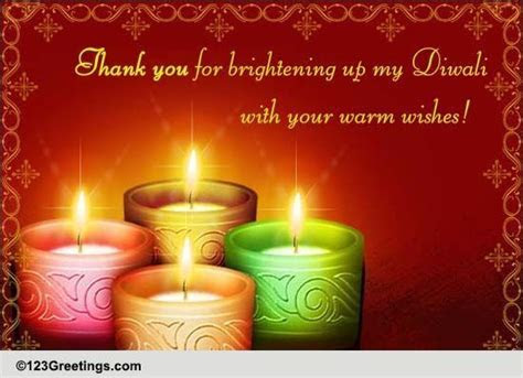 A Diwali Thank You Message! Free Thank You eCards