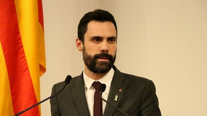 El president del Parlament, Roger Torrent (ACN)