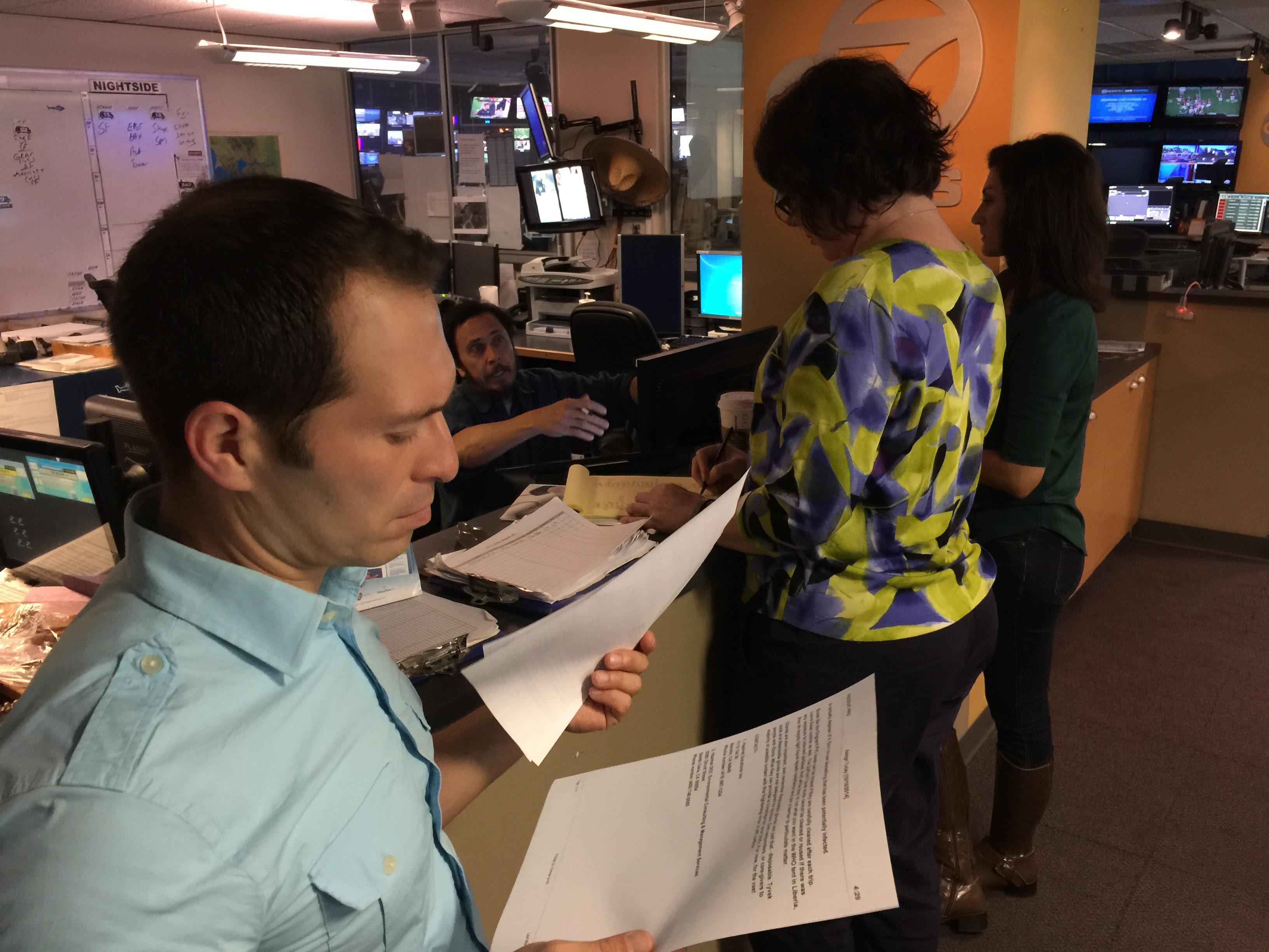 Image result for KGO TV Newsroom