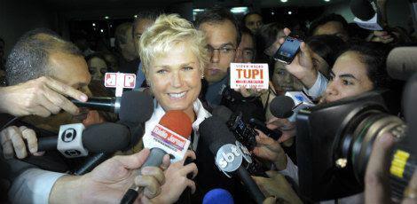 Na primeira entrevista sobre o assunto desde começou a avançar nas negociações com a empresa, Xuxa disse que