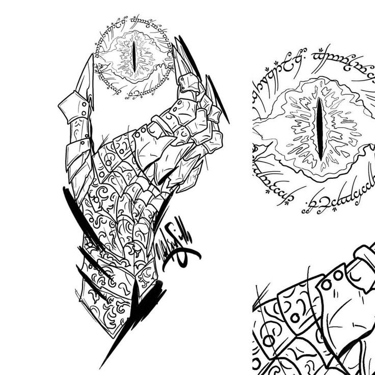 Lord Of The Ring Drawing At Getdrawingscom Free For Personal Use