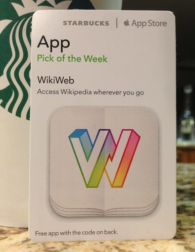 Starbucks iTunes Pick of the Week - WikiWeb