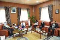 وزيرة التربية الوطنية تستقبل سفير دولة قطر بالجزائر
