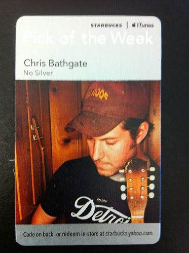 Starbucks iTunes Pick of the Week - Chris Bathgate - No Silver