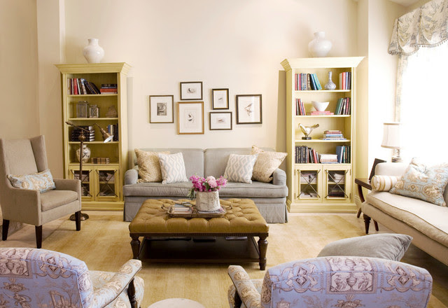 French Country with a Modern Twist - Traditional - Living ...