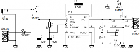 microcontroller power supply circuit