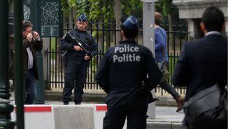 Desplegament policial a Brussel·les