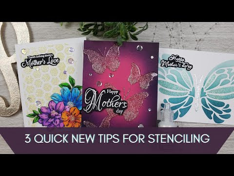 3 New Quick Tips For Stencils