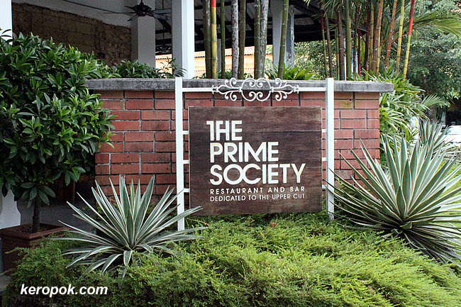 Lunch at The Prime Society @ Dempsey
