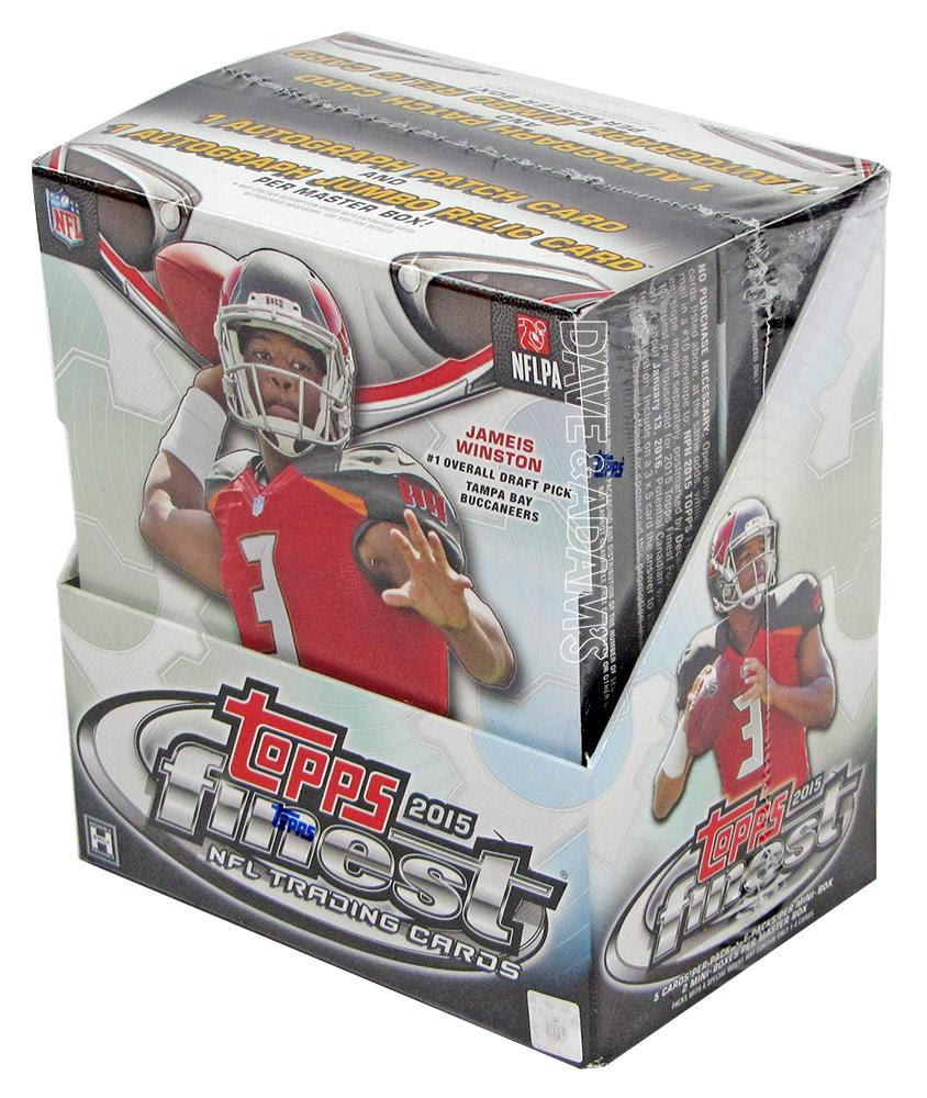 2015 Topps Finest Football Hobby Box  DA Card World