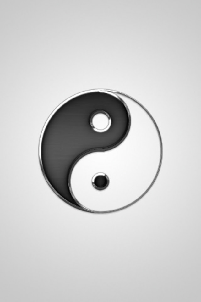 Ying Yang iPhone Wallpaper  WallpaperSafari