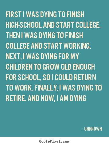 Quotes About After High School 83 Quotes