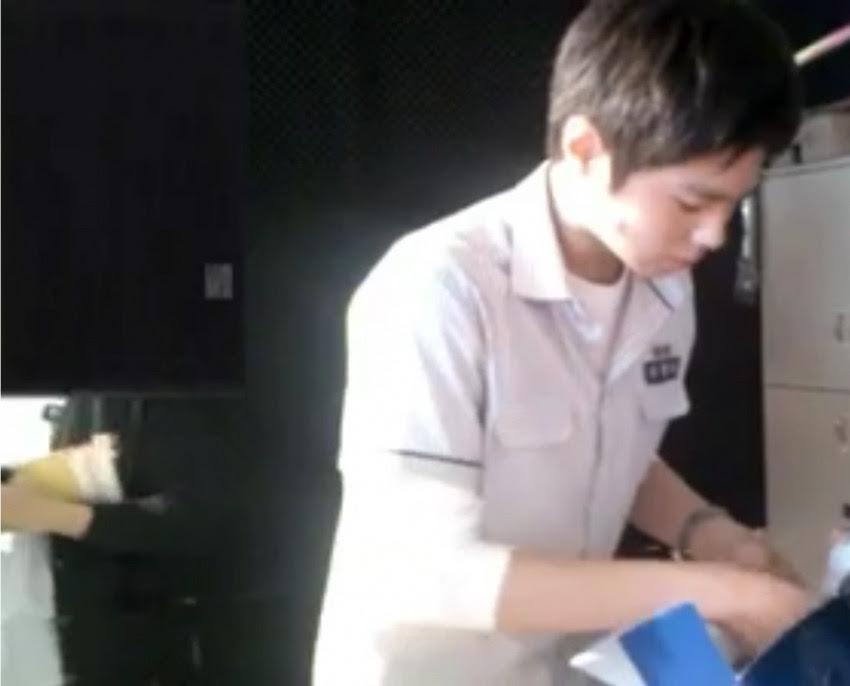 최근, 박보검 고딩 동창이 올린 박보검 처음보는 짤.jpg | 인스티즈