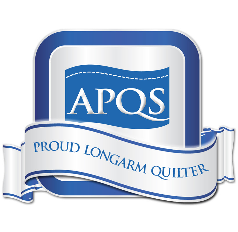 "I'm a proud apqs longarm quilter"" width="