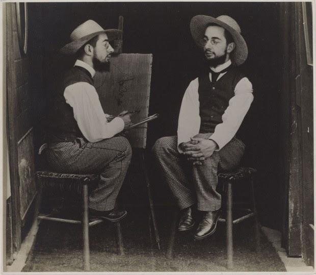 Henri de Toulouse-Lautrec photographed by Maurice Guibert