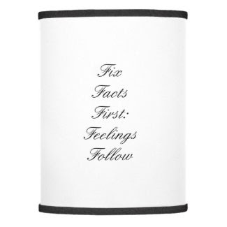 Fix Facts First Lamp Shade