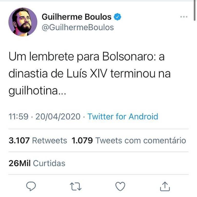 PF intima Boulos a prestar depoimento em investigação sobre ameaça a Bolsonaro