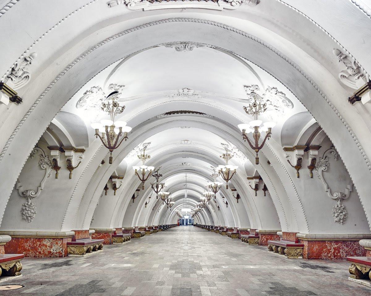 Самое красивое метро в мире  Интересные факты