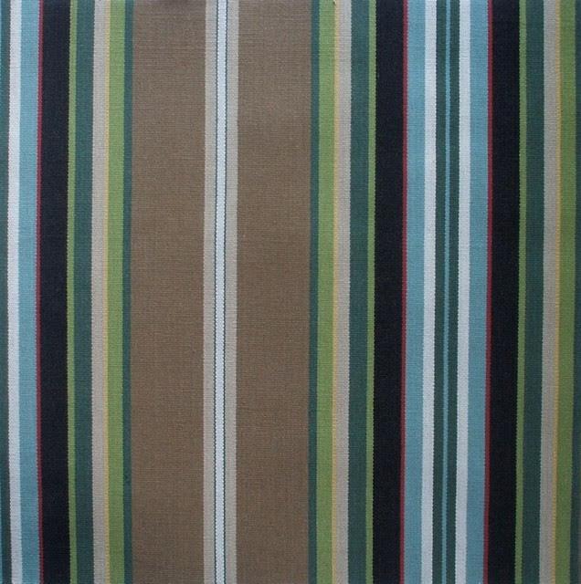 "84"" Shower Curtain Carlton Stripe Walnut Brown - traditional"