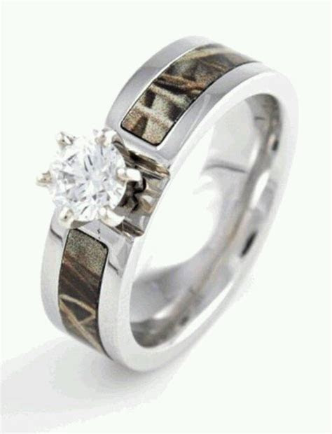 Realtree Camo Wedding Rings   Wedding and Bridal Inspiration