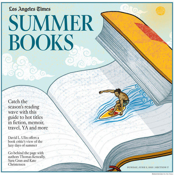 Image result for Hot summer and books