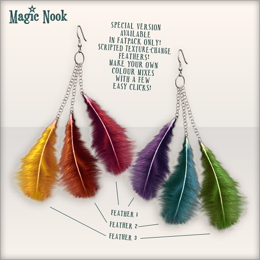 [MAGIC NOOK] Bird Of Paradise Earrings - Close Up SPECIAL (available in fatpack only)
