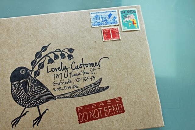 New envelopes for my shop