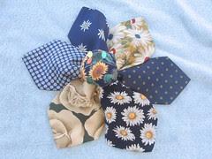 Pincushion Challenge: necktie flower