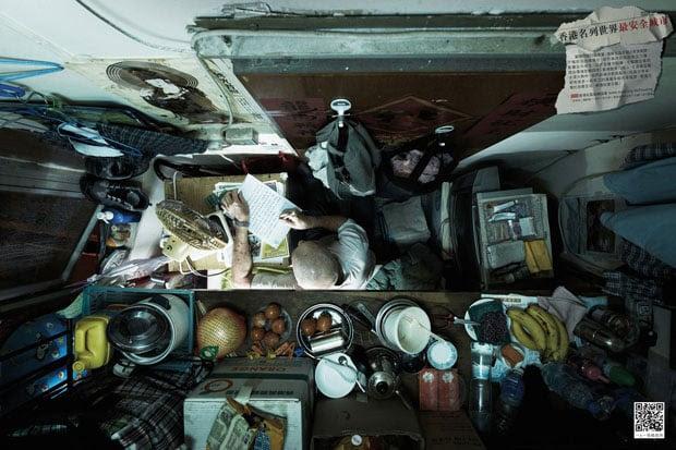Cramped Apartments in Hong Kong Shot From Directly Above hongkongabove 3