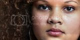 Mixed Girl in a One Color World