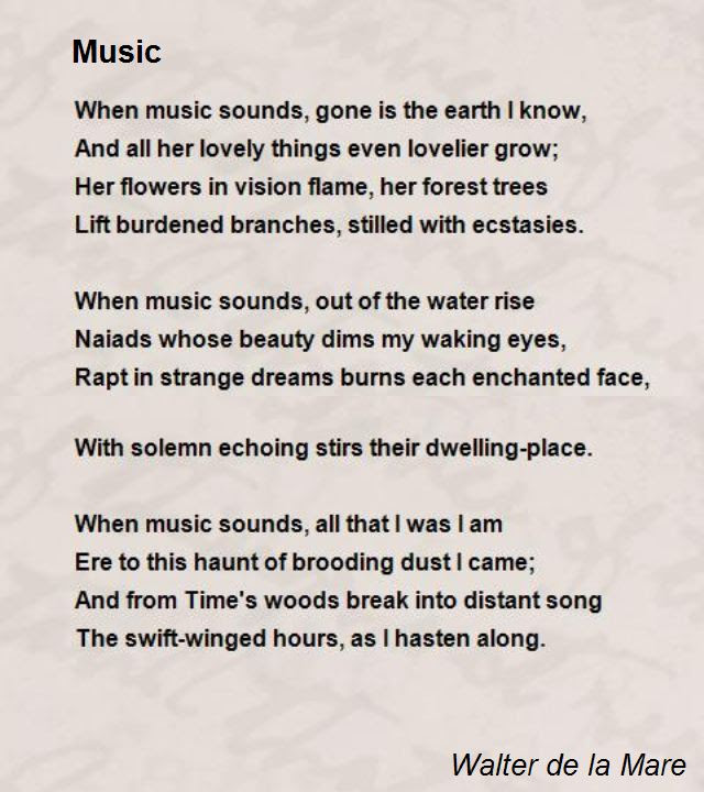 Music Poems