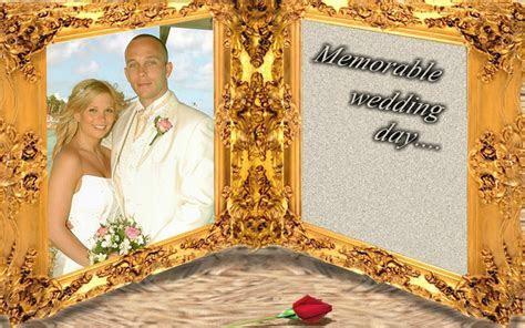 Latest Fashions Updated: Photofunia frames of marriage couple
