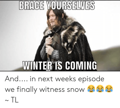 Brace Yourself Winter Is Here Meme