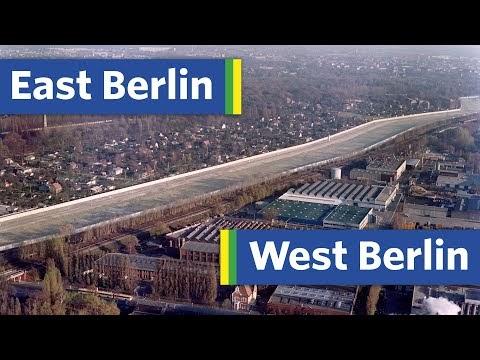 VIDEO: Πως «χωρίστηκε» στα δύο η πόλη και το Μετρό του Βερολίνου