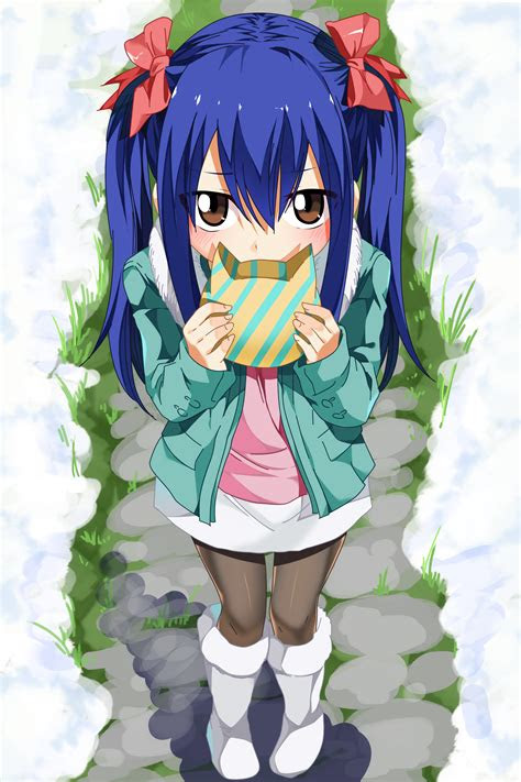 wendy marvell fairy tail mir anime krasivye