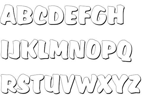 Ausmalbilder Buchstaben I