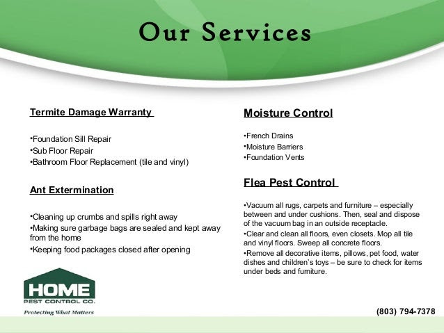 home pest control company profile 6 638