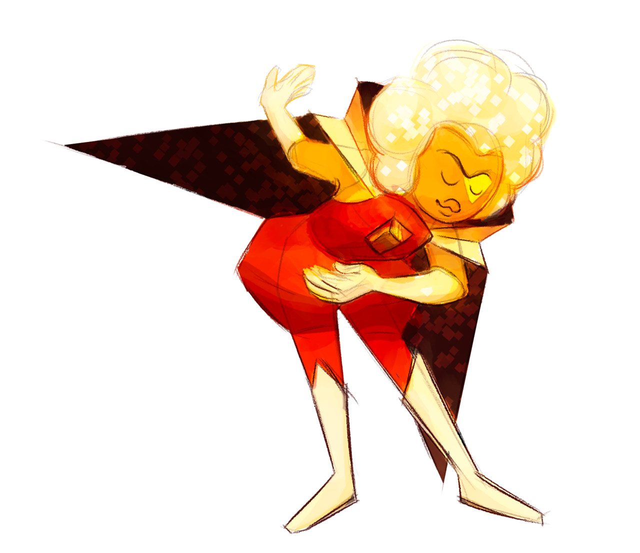 A Hessonite sketch! I haven't played the game but every gif I've seen contains so much of the Dramatic Flair