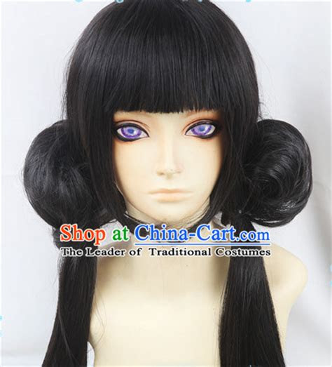 ancient asian korean japanese chinese style female wigs