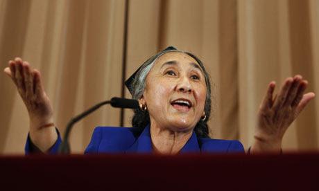Rebiya Kadeer in Tokyo