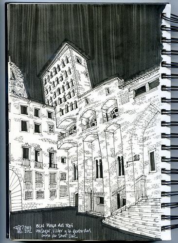 Plaça del Rei 24.03.2012