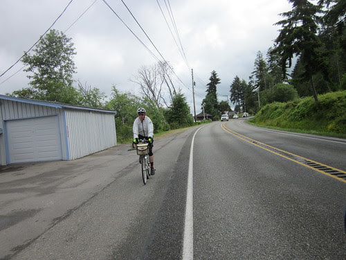 Bill, riding south out of Belfair