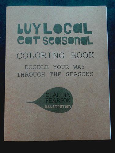 Buy Local Coloring Book