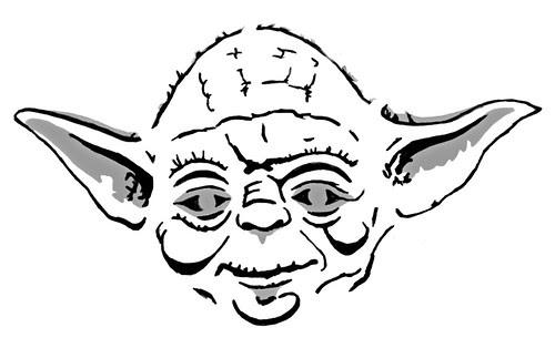 Life And Times... Blah Blah: Yoda Pumpkin Carvin