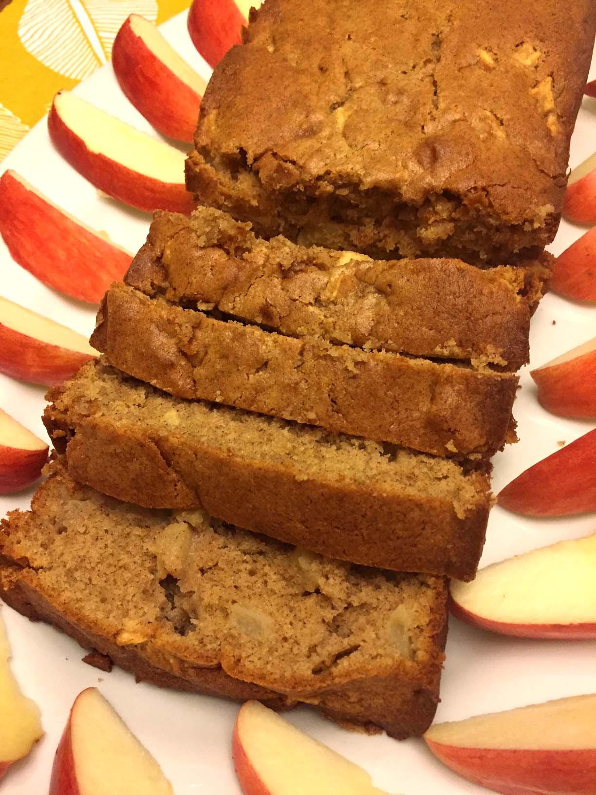 Easy Cinnamon Apple Sweet Quick Bread Recipe - Melanie Cooks