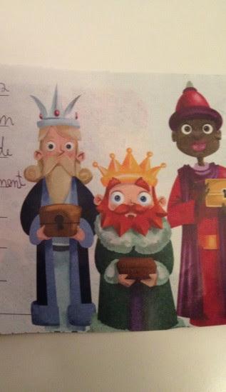 Un trocito de carta a los Reyes Magos de Olivier (8).