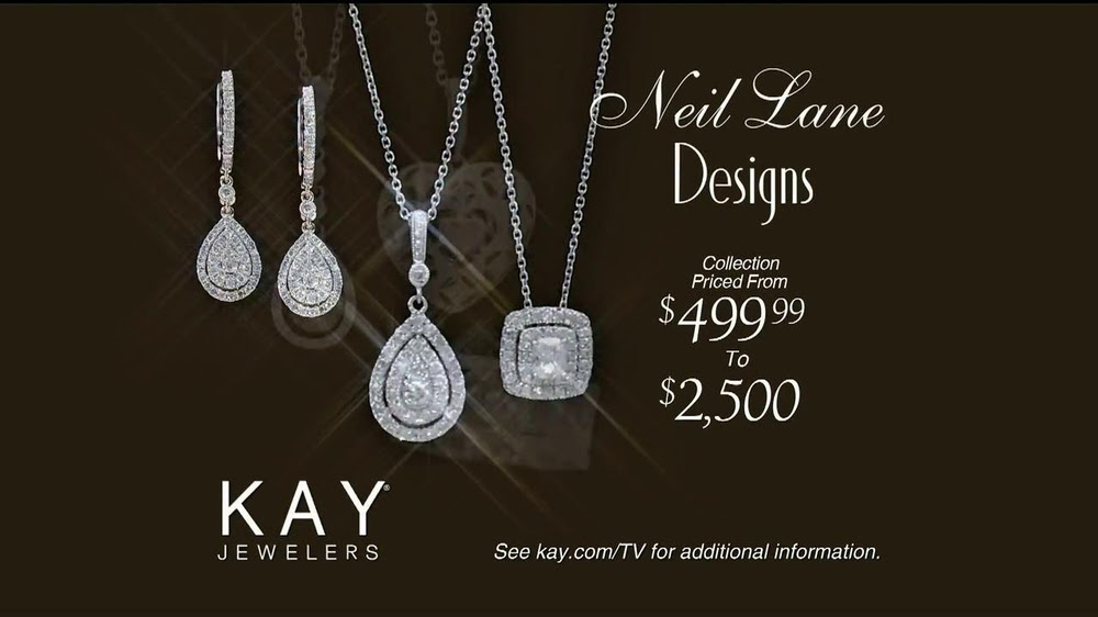 White Gold Necklace Kay Jewelers Ad