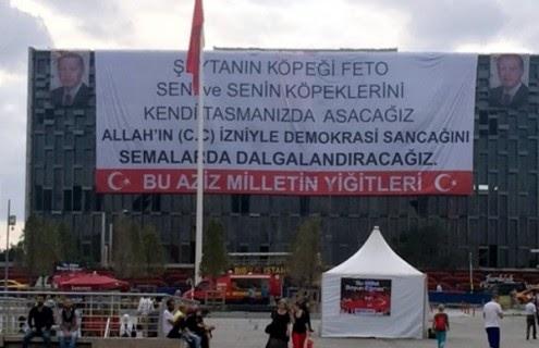 Erdogan completa o seu golpe retomando o projeto da praça Taksim